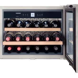 LIEBHERR  WKEES553 Built-in Wine Cooler | Stainless Steel